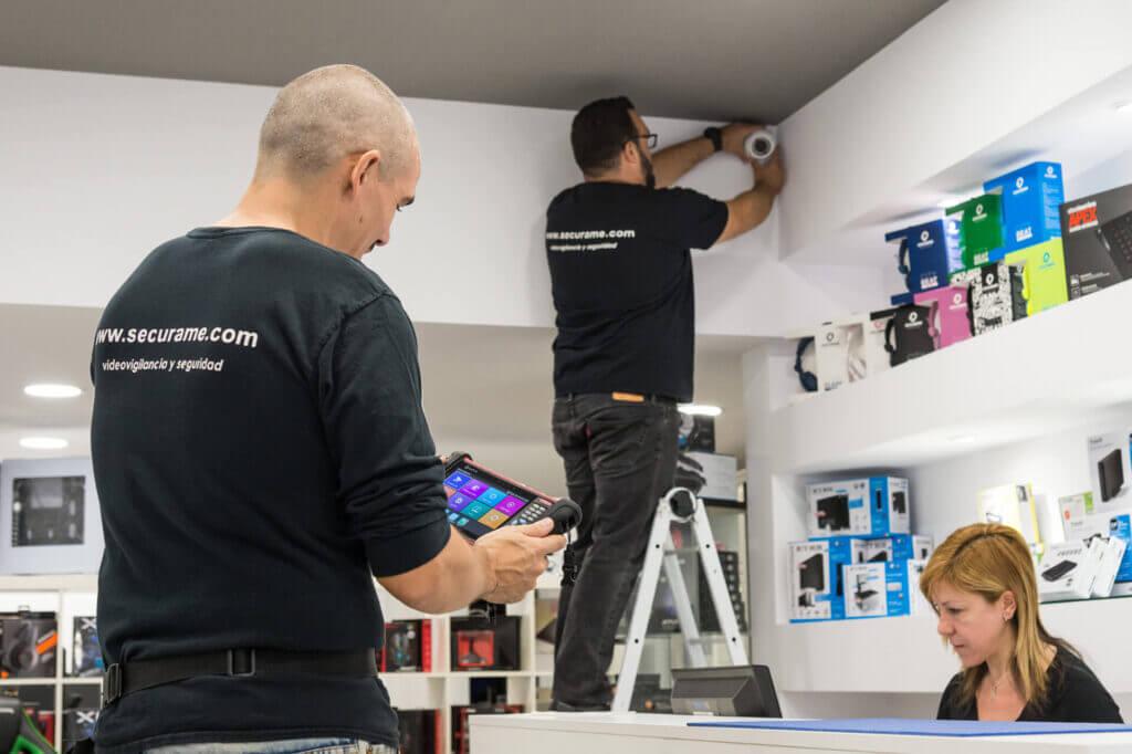 instalación videovigilancia barcelona tiendas
