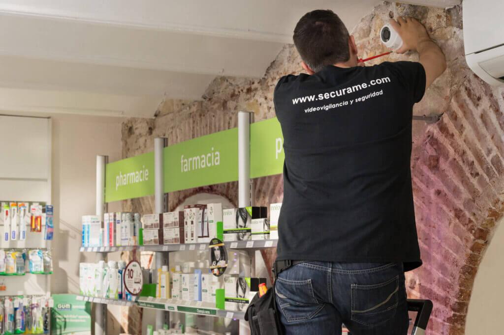 instalación seguridad videovigilancia barcelona
