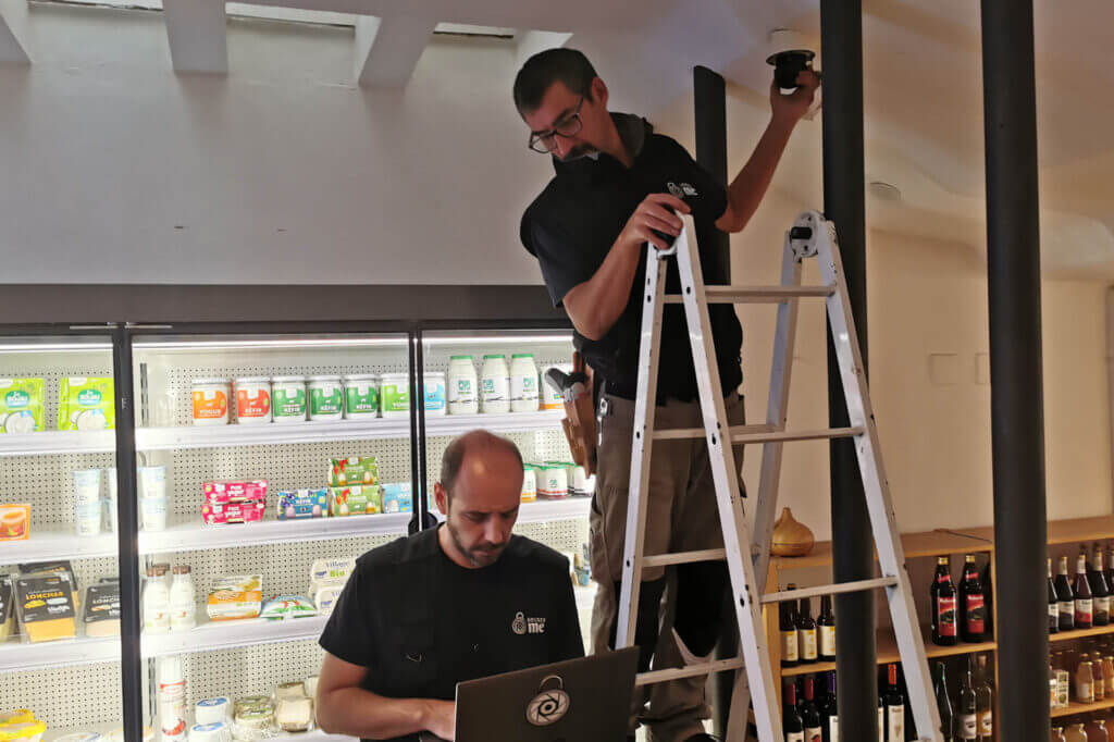 instalador cámaras seguridad negocio