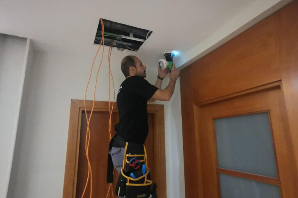 instalador videovigilancia comunidades barcelona