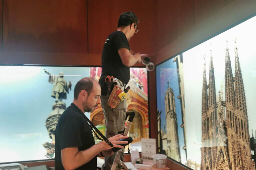 instalación videovigilancia barcelona hoteles