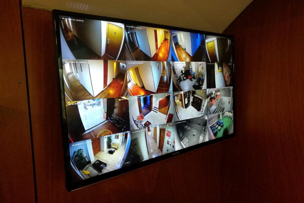 instalación videovigilancia cctv hoteles