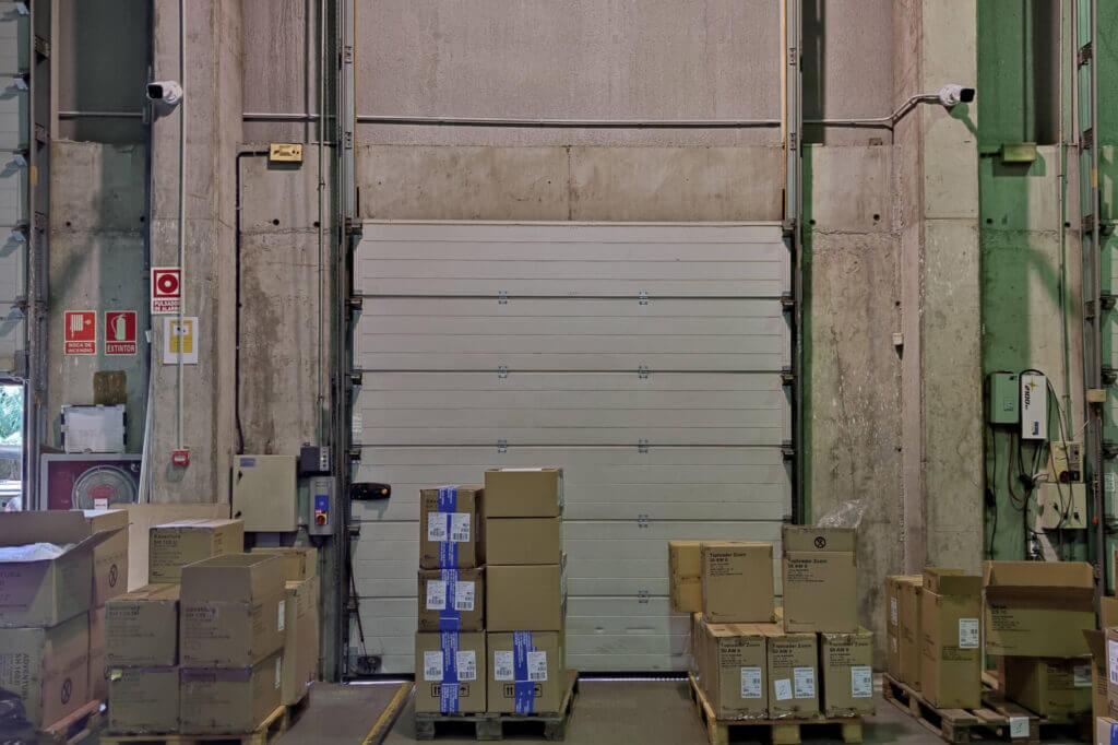 instalación videovigilancia para naves e industria