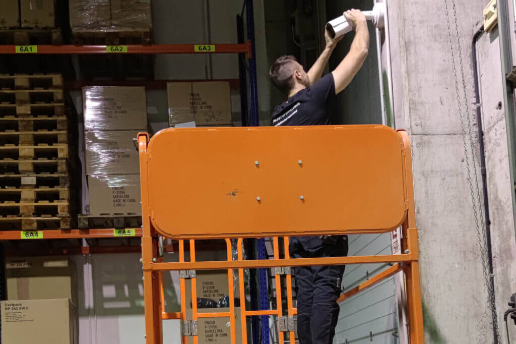 instalación videovigilancia industrial