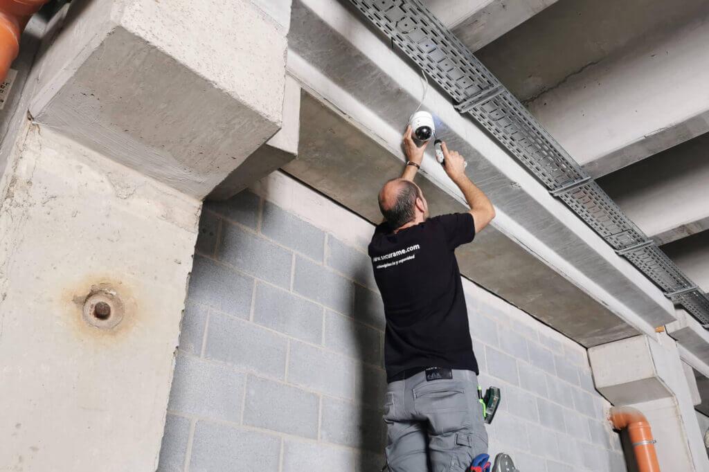 instalar videovigilancia nave industrial