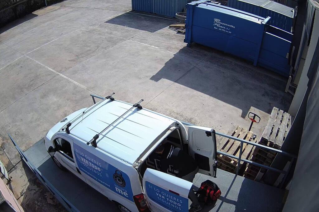 videovigilancia barcelona para naves