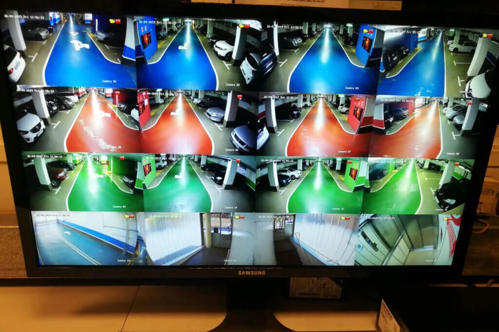 instaladores videovigilancia parkings
