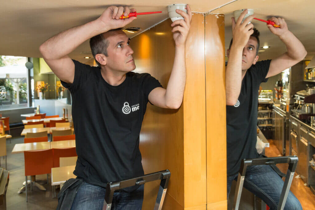instalador videovigilancia restaurantes