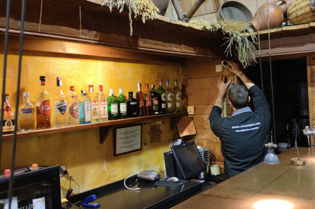 instalación videovigilancia bares restaurantes
