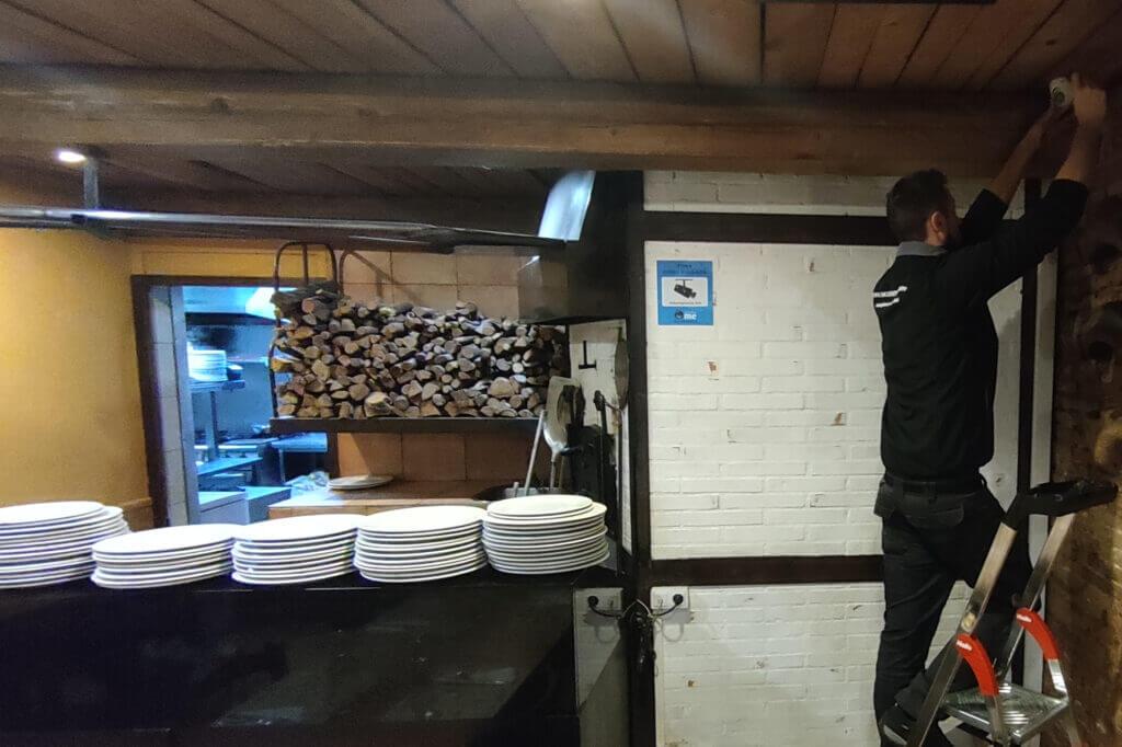 instalador seguridad videovigilancia restaurante