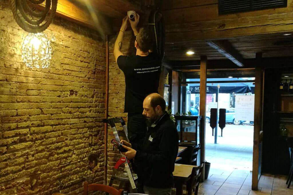 videovigilancia para restaurantes