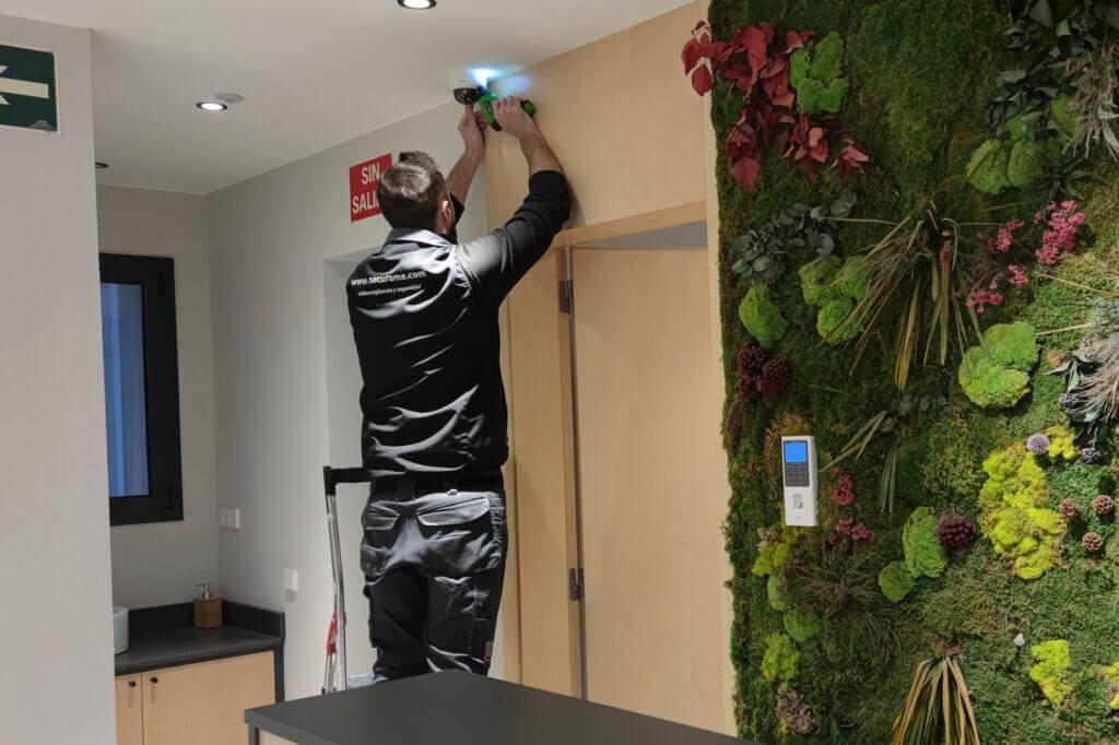 instaladores videovigilancia hotel