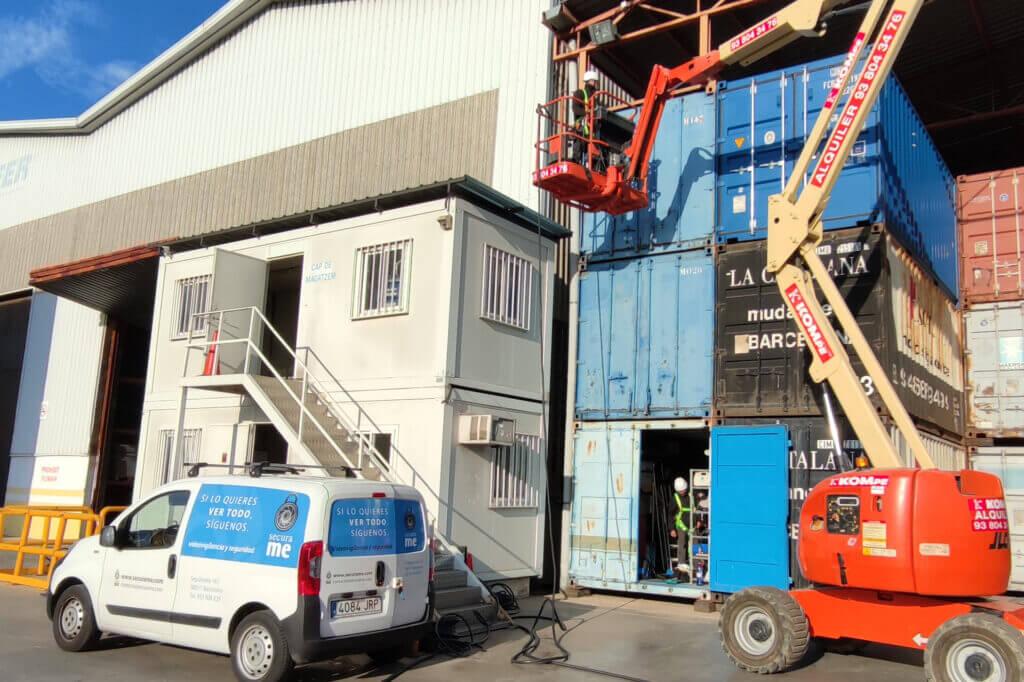 instalacion videovigilancia naves industriales